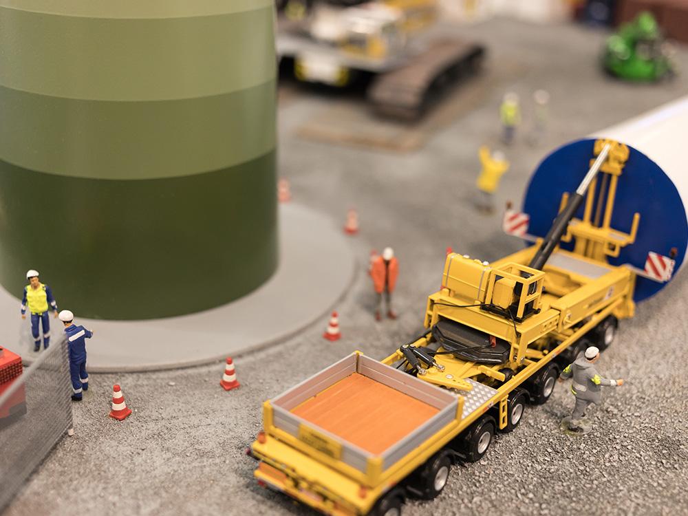 画像:バイオマス発電所建設工事